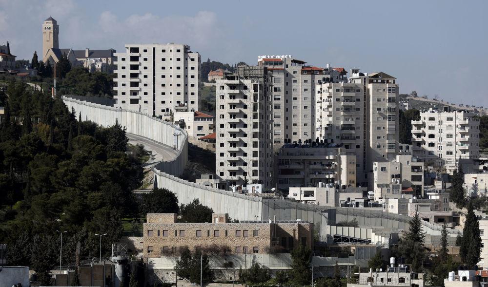 Mur bezpieczeństwa między Izraelem a Zachodnim Brzegiem Jordanu