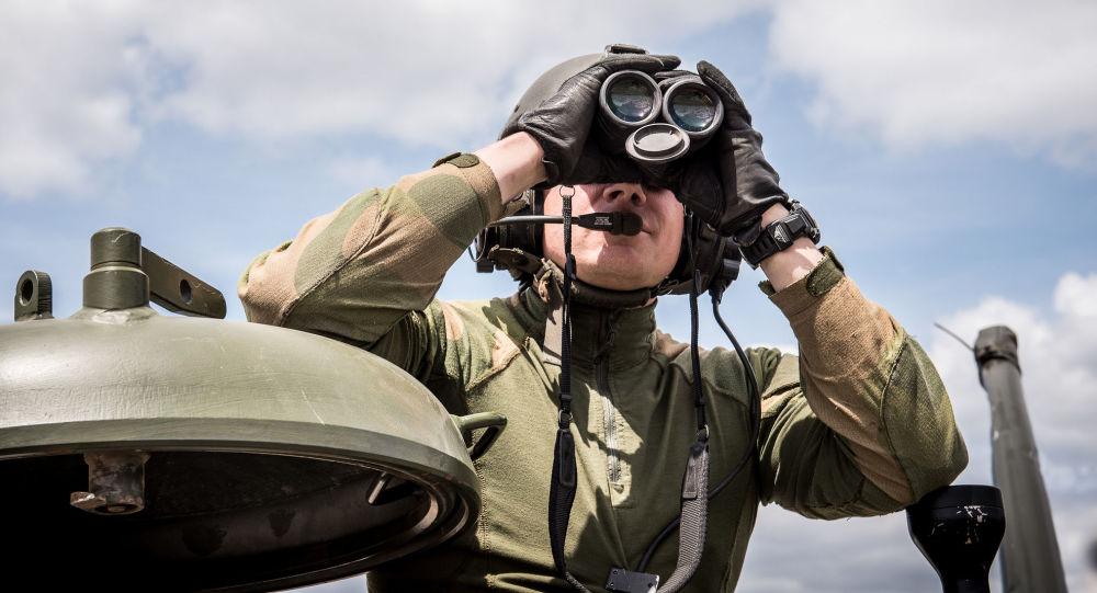 Żołnierz norweskiej armii