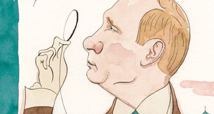 Okładka gazety New Yorker, marzec 2017
