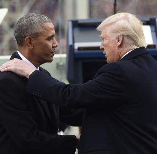 Barack Obama i Donald Trump