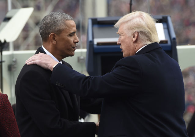 Barack Obama i Donald Trump