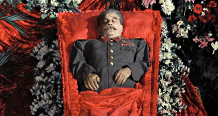 Pogrzeb Józefa Stalina, 1953 r.
