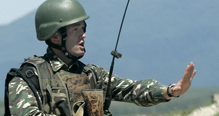 Szkolenia wojskowe NATO w Gruzji, maj 2009