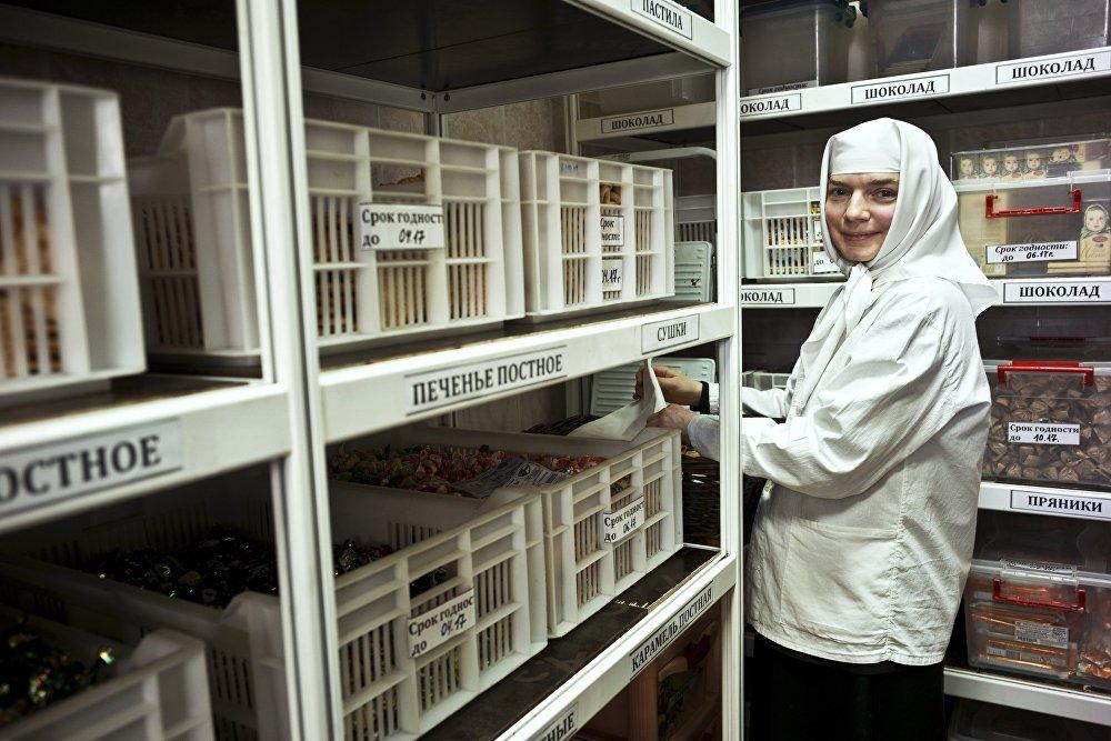 Magazyn żywnościowy refektarza klasztornego.