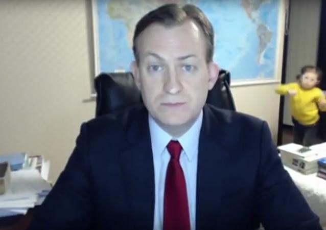 Dzieci przerwały wywiad dla BBC