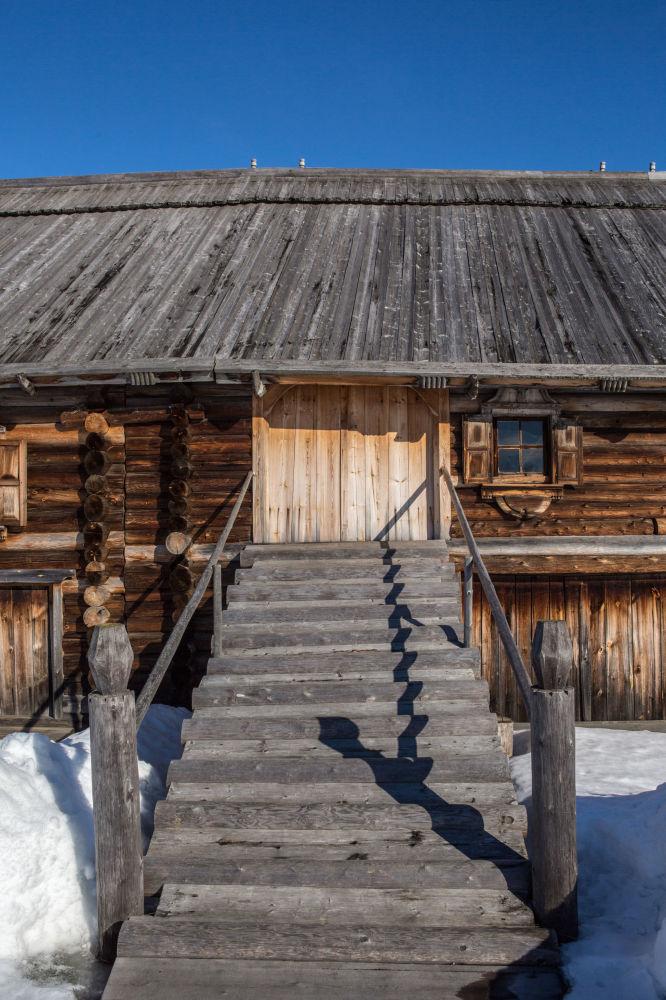 Dom na terenie muzeum-rezerwatu Kiży.