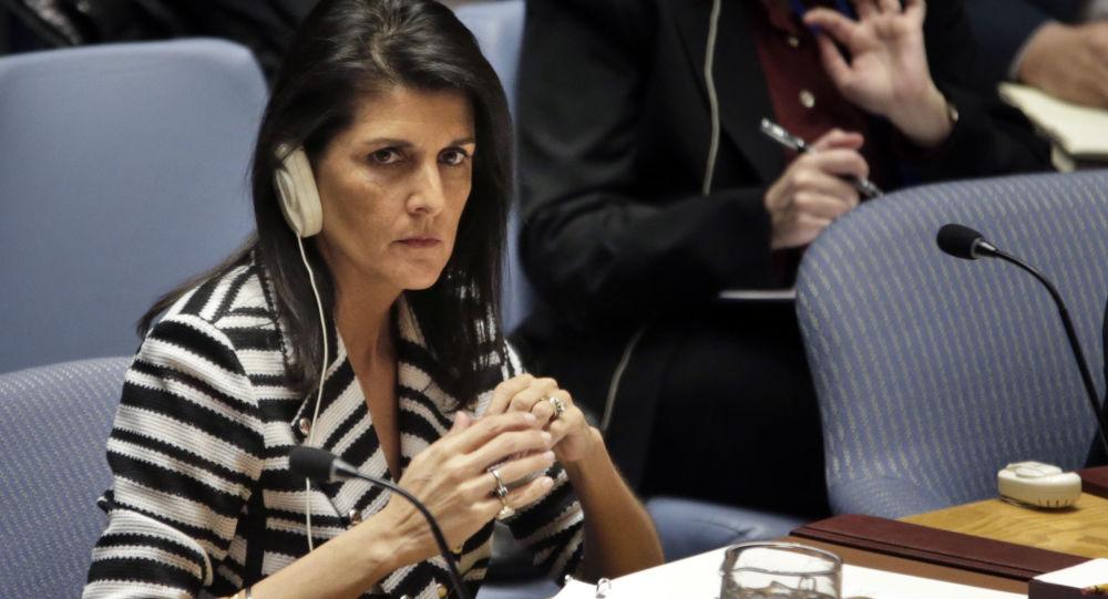 Stała przedstawicielka USA przy ONZ Nikki Haley
