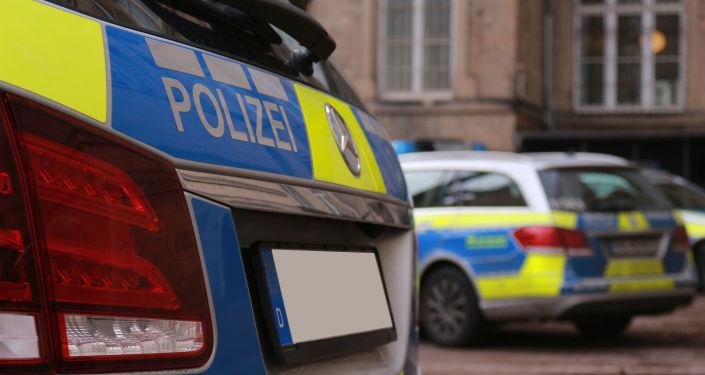 Wóz policyjny w Niemczech
