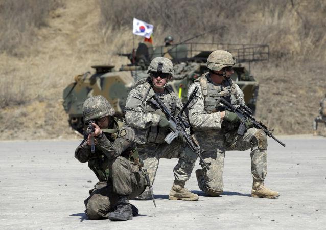 ćwiczenia wojskowe Korei Południowej i USA