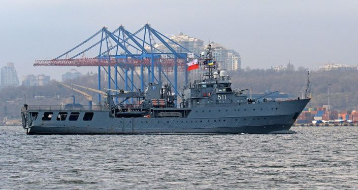 Polski okręt wsparcia logistycznego ORP Kontradmirał Xawery Czernicki