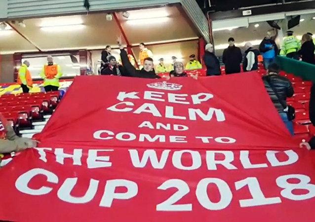 """Kibice """"Rostowa"""" zapraszają Anglików do przyjazdu do Rosji na Mistrzostwa Świata"""