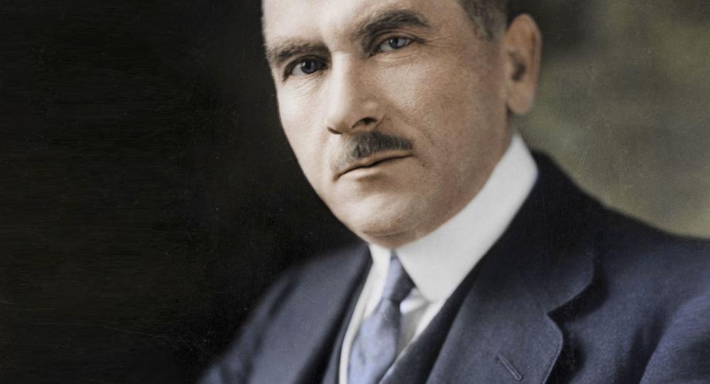 Польский политический деятель и публицист Роман Дмовский