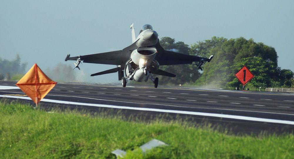 Myśliwiec F-16 tajwańskich sił powietrznych