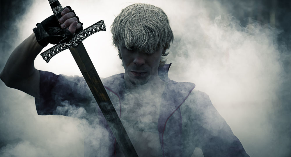 Wojownik z mieczem