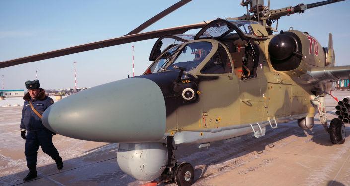 Śmigłowiec Ka-52 Aligator