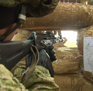 Ćwiczenia wojskowe na Krymie