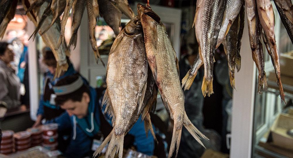 Festiwal Złota jesień, targ rybny