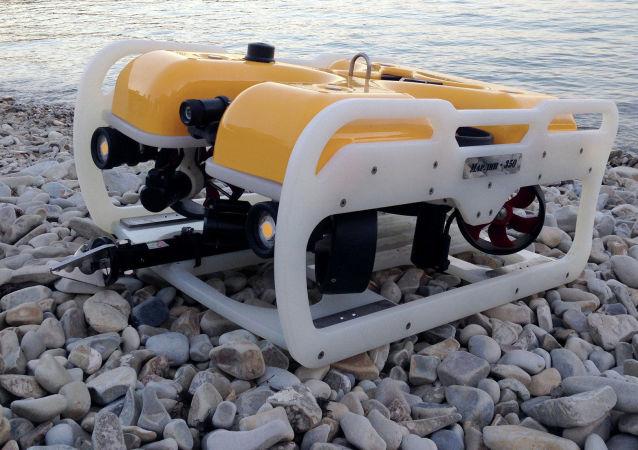 """Zdalnie sterowany podwodny dron """"Marlin 350"""""""