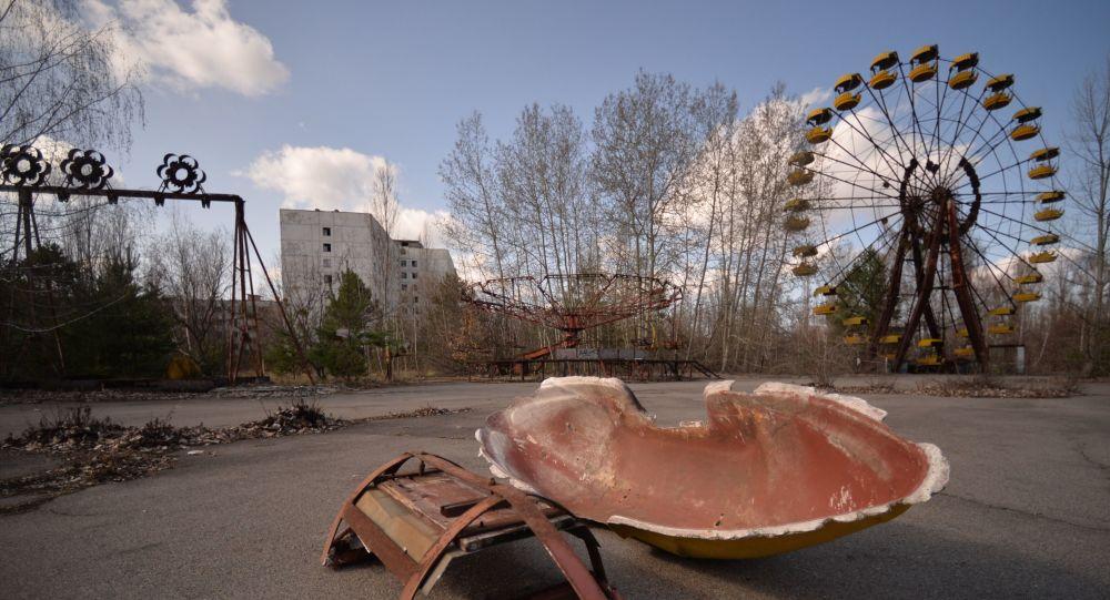 Miasto Prypeć w Czarnobylskiej Strefie Wykluczenia