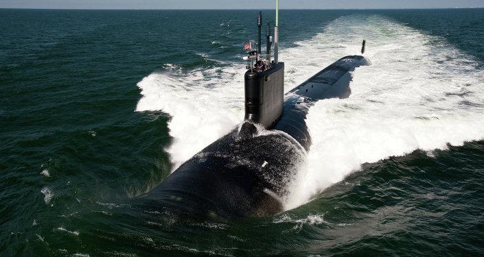 Amerykański okręt podwodny z napędem jądrowym typu Virginia USS California