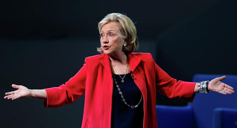 Kandydatka na prezydenta Stanów Zjednoczonych Hillary Clinton