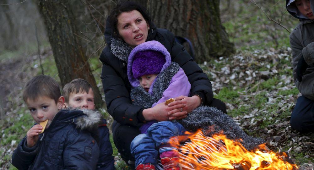 Kosowscy uchodźcy