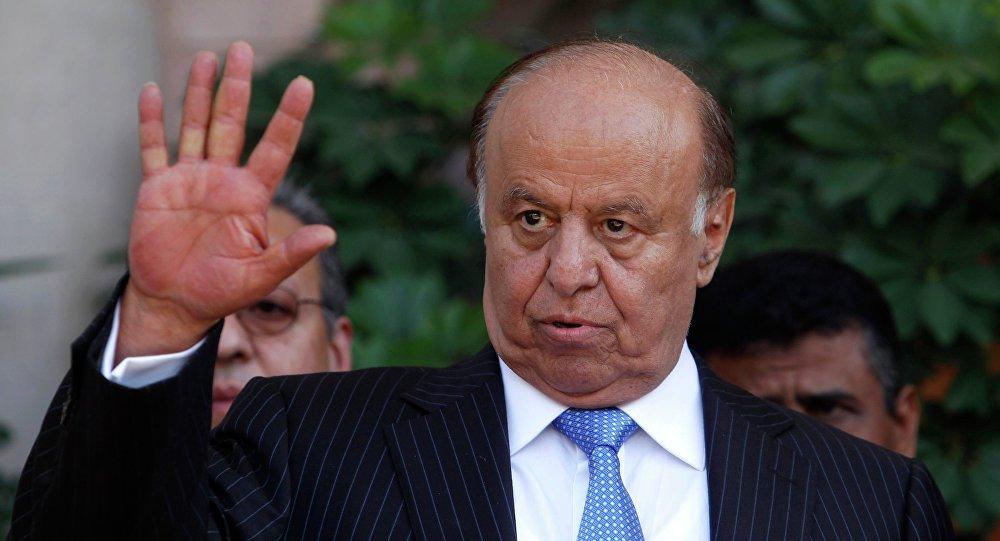 Prezydent Jemenu Abd ar-Rab Mansur al-Hadi