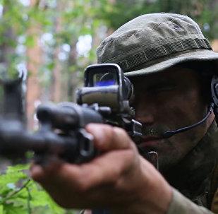 Tak przygotowują się żołnierze Rosgwardii