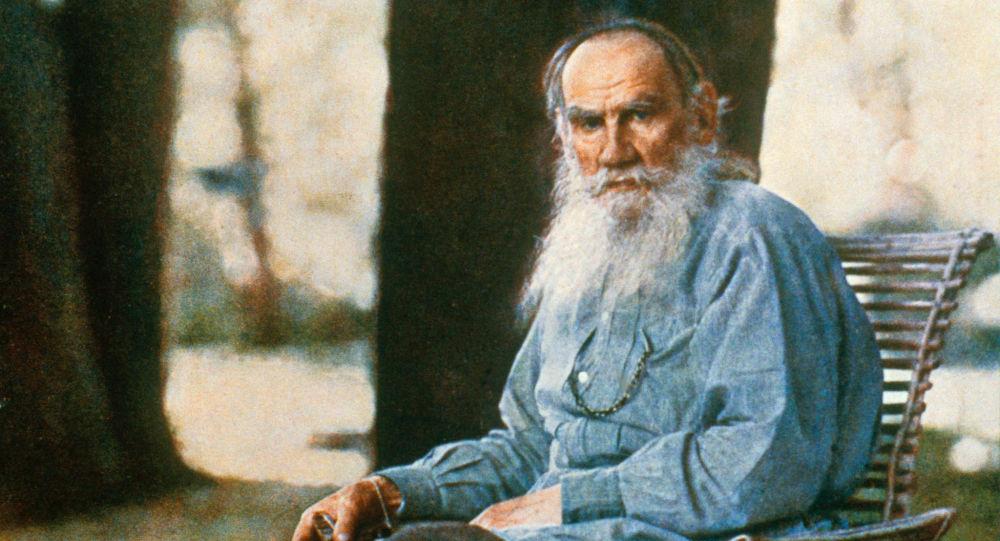 Rosyjski pisarz Lew Tołstoj