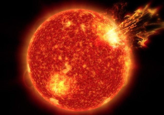Rozbłysk słoneczny