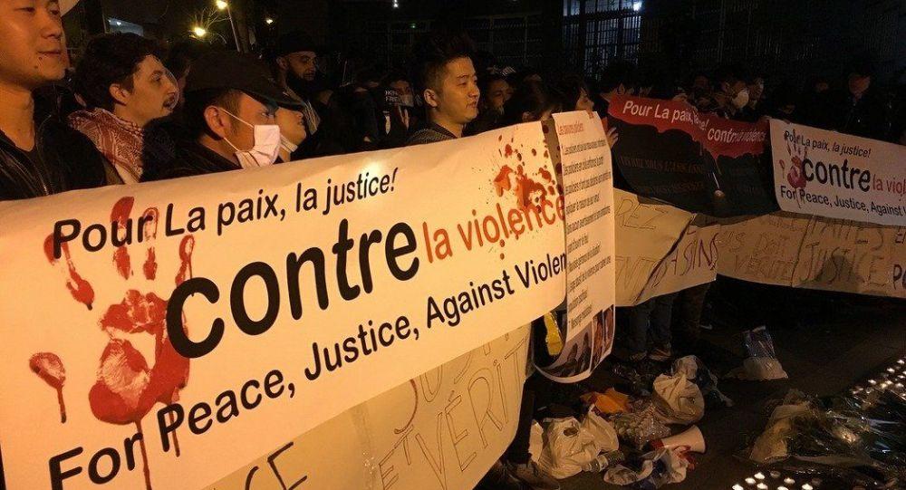 Protest po śmierci Chińczyka, który zginął z rąk policjantów w Paryżu