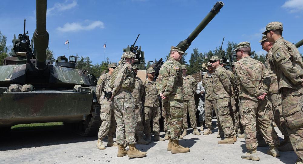 Amerykańscy żołnierze podczas szkoleń w Niemczech