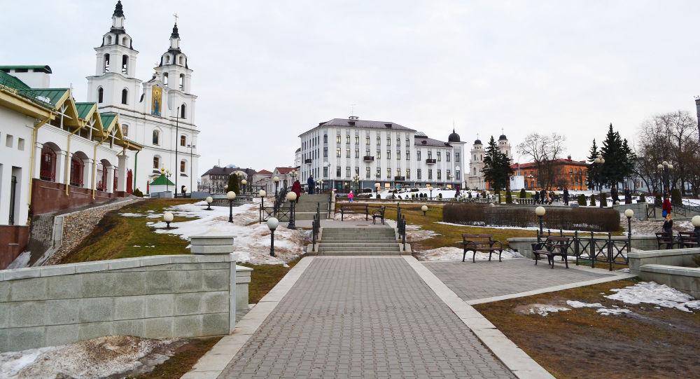 Centrum Mińska, Białoruś