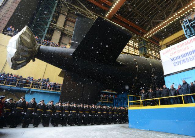 """Atomowy okręt podwodny """"Kazań"""""""