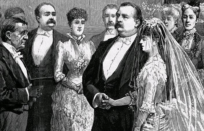 Ślub 22. i 24. prezydenta USA Grovera Clevelanda