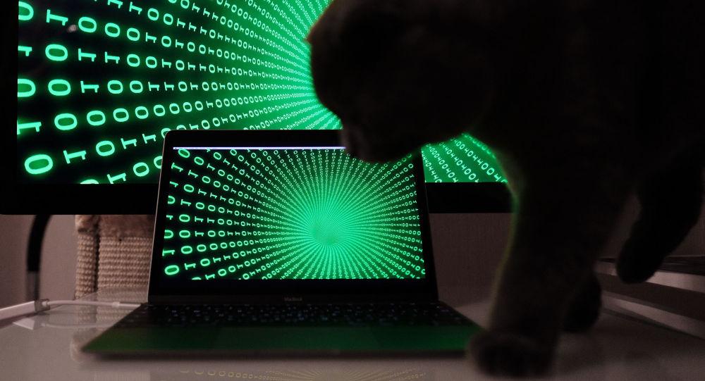 Cyfry na ekranach komputera i laptopa