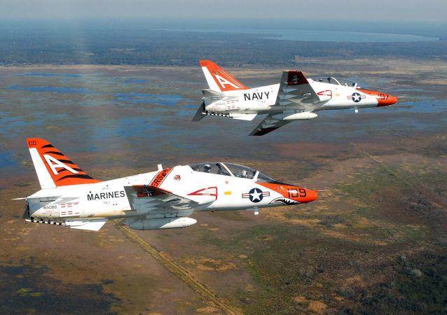 Amerykańskie samoloty szkoleniowe Boeing T-45 Goshawk