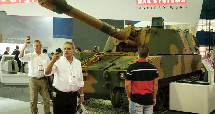 Wystawa systemów lotniczych i obronnych LAD 2017 w Brazylii
