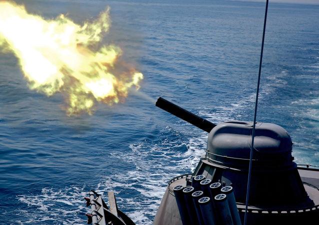 System artyleryjski AK-630 w akcji
