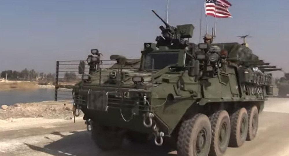 Amerykański czołg w Syrii