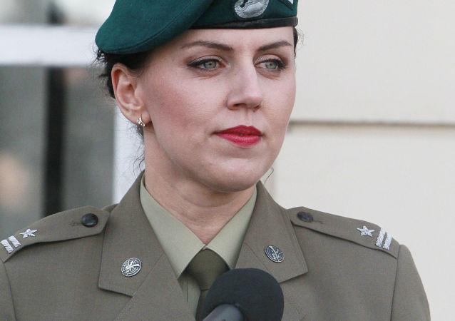 Rzeczniczka MON Polski Anna Pęzioł-Wójtowicz.