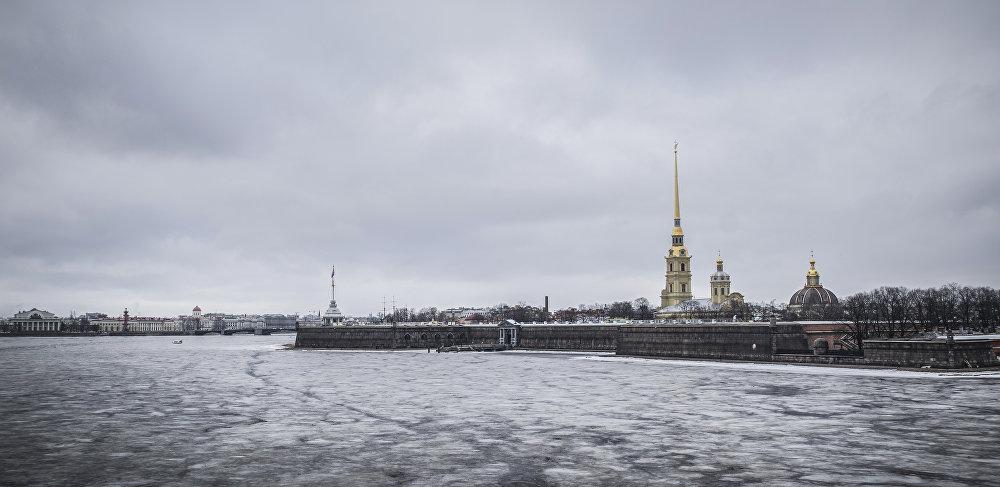 Twierdza Petropawłowska w Petersburgu.