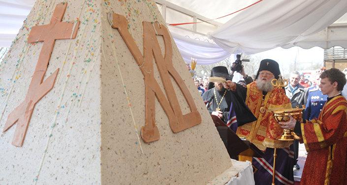 Rekordowa pascha o wadze 485 kg przygotowana przez rostowskich cukierników