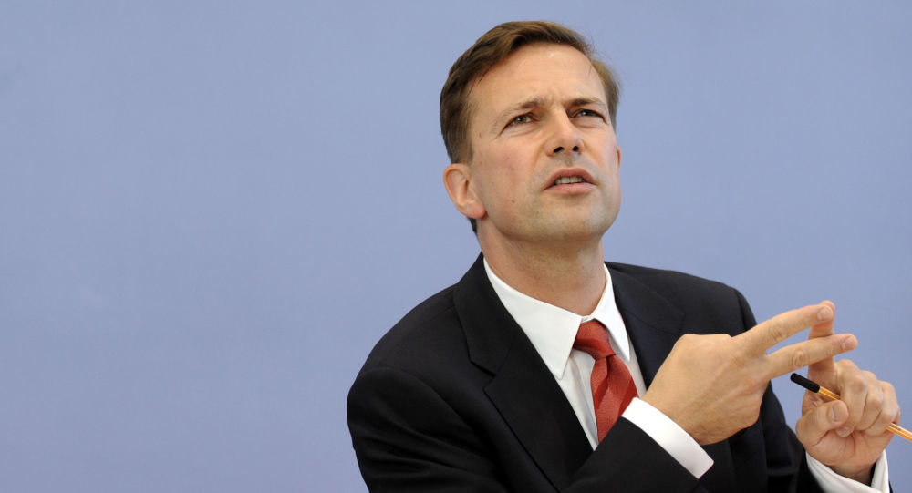 Rzecznik niemieckiego rządu Steffen Seibert