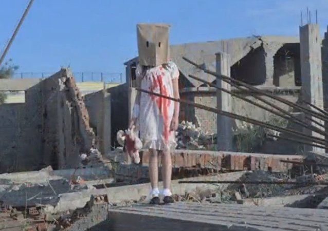 Inscenizacja do fejka o Aleppo