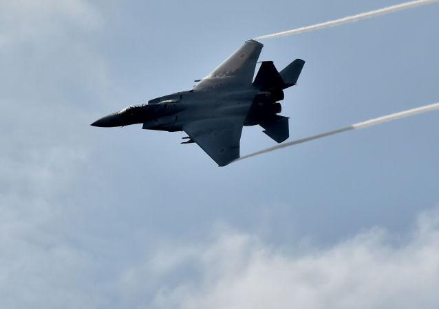 Myśliwiec Japońskich Powietrznych Sił Samoobrony F-15J Eagle