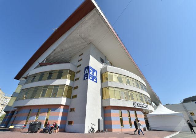 Międzynarodowe Centrum Wystawowe w Kijowie, gdzie odbędzie się konkurs Eurowizji-2017