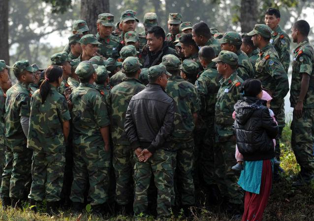 Nepalscy żołnierze