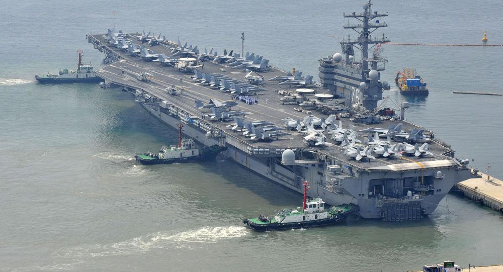 USA wyślą lotniskowce do Korei Południowej - Sputnik Polska