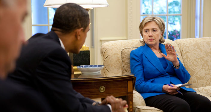 Hillary Clinton i Barack Obama